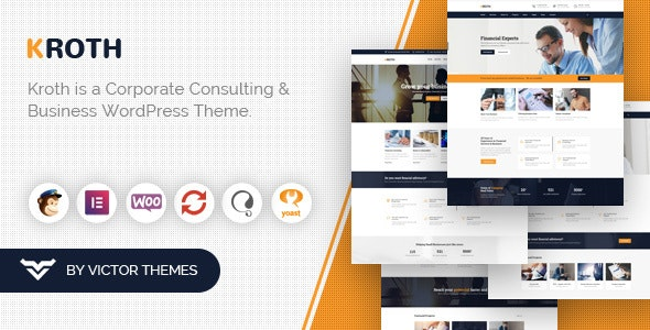 Download Kroth v1.9.3 – Business/Consulting WordPress Theme
