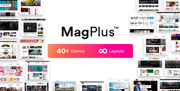 Download MagPlus v5.4 - Blog & Magazine WordPress Theme