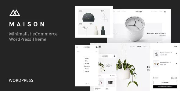 Download Maison v1.16 - Minimalist eCommerce WordPress Theme
