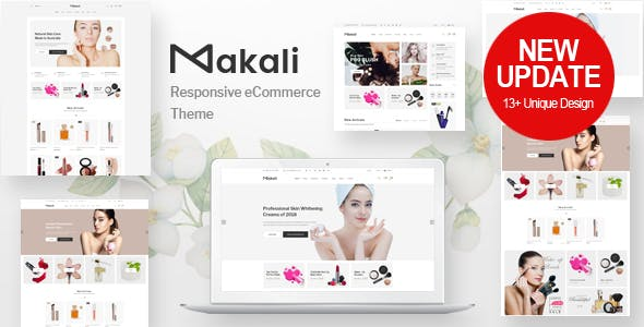 Download Makali v1.3.8 - Cosmetics & Beauty Theme