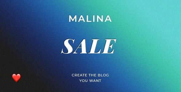 Download Malina v1.9.0 - Personal WordPress Blog Theme