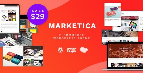 Download Marketica v4.6.3 - Marketplace WordPress Theme