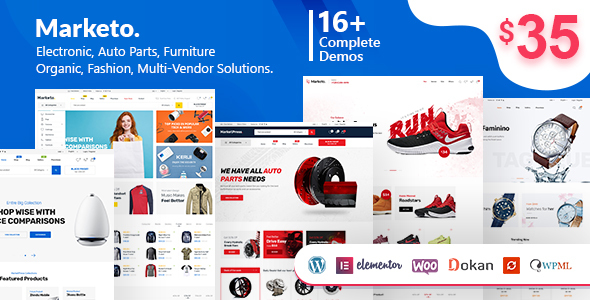 Download Marketo v2.0.1 - ECommerce & Multivendor Theme