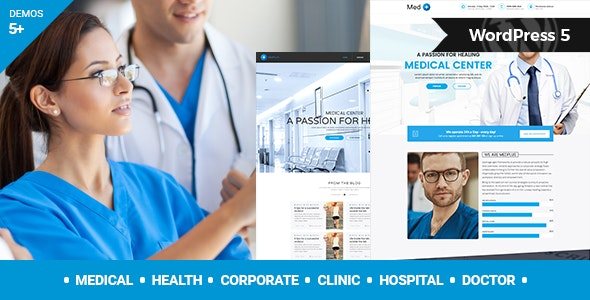 Download MedPlus v1.5 - Medical & Health WordPress Theme