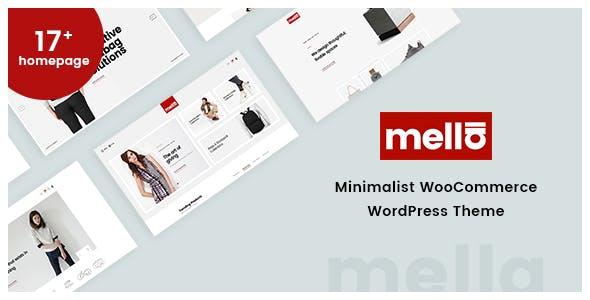 Download Mella v1.2.12 - Minimalist Ajax WooCommerce WordPress Theme