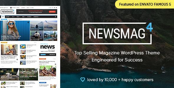 Download Newsmag v4.9.3 - News Magazine Newspaper