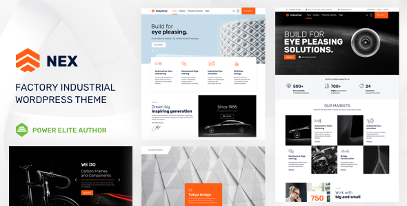 Download Nex v6 - Factory & Industrial WordPress