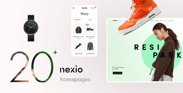 Download Nexio v1.1.3 – Fashion WooCommerce Theme + RTL