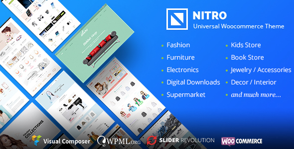 Download Nitro v1.7.6 - Universal WooCommerce Theme