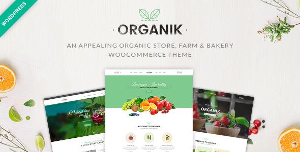 Download Organik v2.8.0 - An Appealing Organic Store