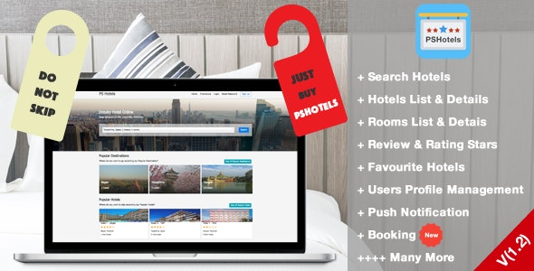 PSHotels Website (Ultimate Hotels Finder Website With Backend) v1.3 – codemafia.club
