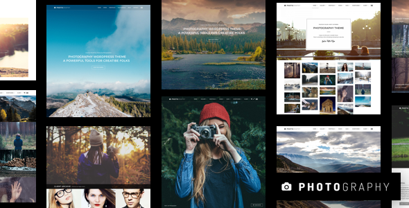 Download Photography v6.2 - Responsive Photography Theme