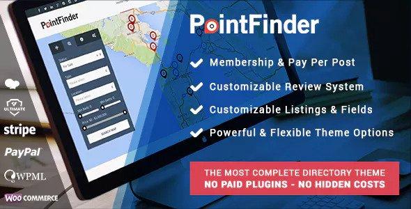 Download Point Finder v1.9.7 - Versatile Directory and Real Estate