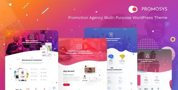 Download PromoSys v1.0.0 - Promotion Services Multi-Purpose WordPress Theme