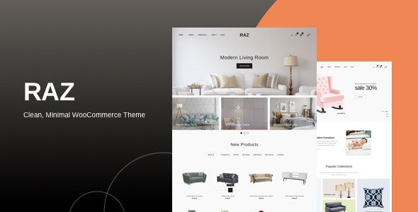 Download Raz v1.0.1 - Clean, Minimal WooCommerce Theme