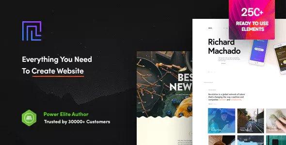 Download Revolution v1.6.9.2 – Creative Multi Purpose Theme