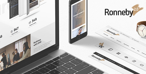 Download Ronneby v3.2.2 - High-Performance WordPress Theme