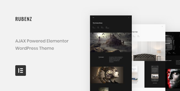 Download Rubenz v1.9.1 - Creative Portfolio AJAX WordPress Theme