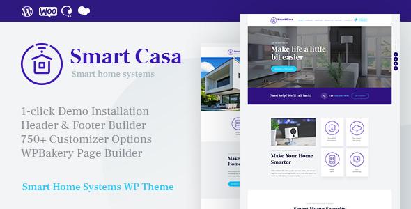 Download Smart Casa v1.0.5 - Home Automation & Technologies Theme