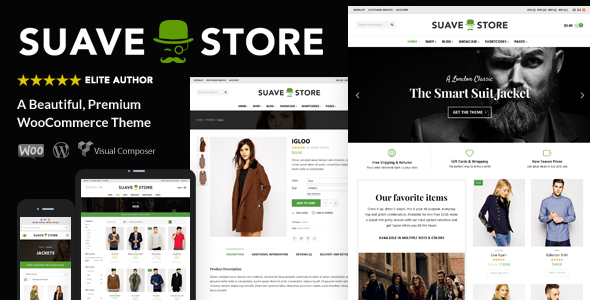 Download Suave v1.9.7 - Multi-Purpose WooCommerce Theme