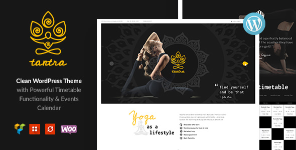 Download Tantra v1.0.4 - A Yoga Studio and Fitness Club Theme