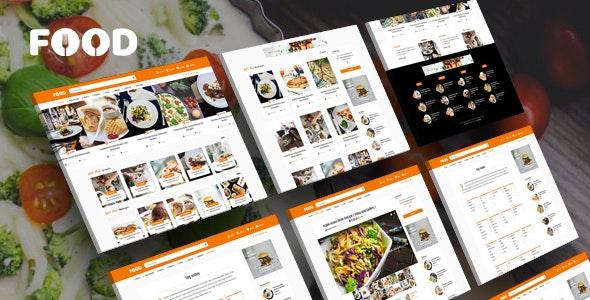 Download Tasty Food v2.4 - Recipes & Blog WordPress Theme