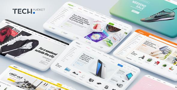 Download Techmarket v1.4.5 - Multi-demo & Electronics Store Theme