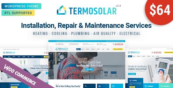 Download Termosolar v2.1 - Maintenance Services WordPress Theme