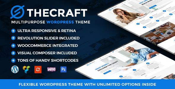 Download TheCraft v1.6 - Responsive Multipurpose WordPress Theme