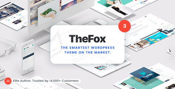 Download TheFox v3.9.9.3 - Responsive Multi-Purpose WordPress Theme