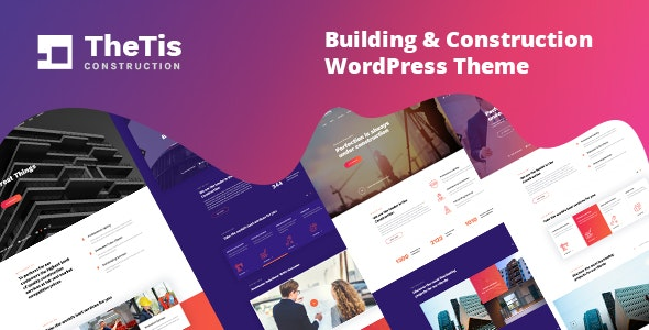 Download TheTis v1.0.1 - Construction & Architecture WordPress Theme