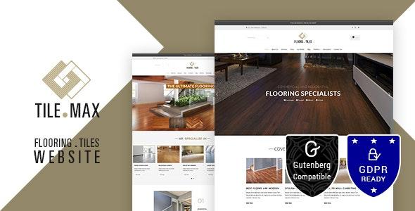 Download Tilemax v1.9 - Flooring, Tiling & Paving WP Theme