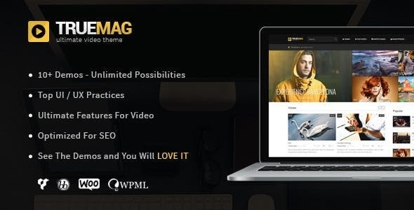 Download True Mag v4.3.3 - WordPress Theme for Video and Magazine