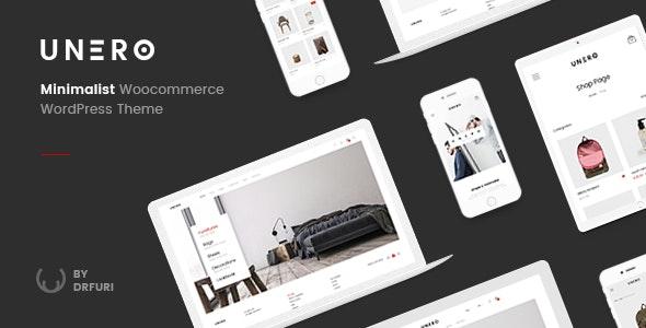 Download Unero v1.8.5 - Minimalist AJAX WooCommerce WordPress Theme