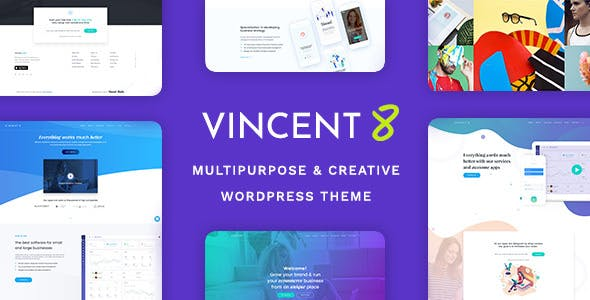 Vincent Eight v1.4 - Responsive Multipurpose WordPress Theme
