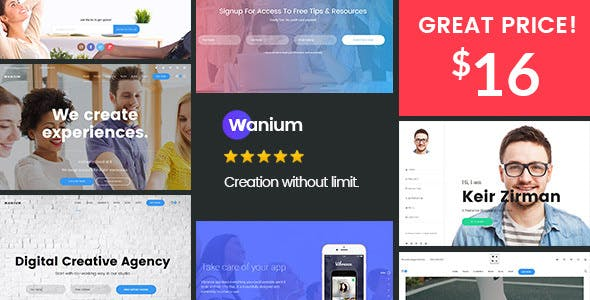 Download Wanium v1.6.6 - A Elegant Multi-Concept Theme