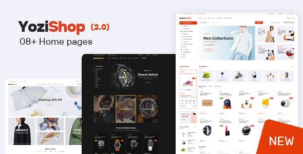 Download Yozi v2.0.23 - Multipurpose Electronics WooCommerce Theme