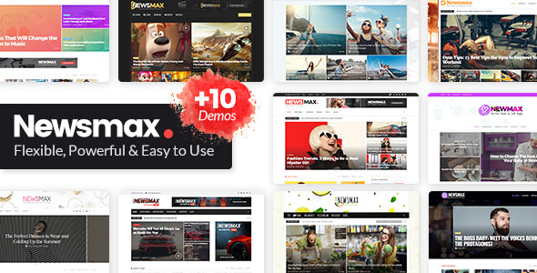 Download Newsmax v3.0 - Multi-Purpose News & Magazine Theme
