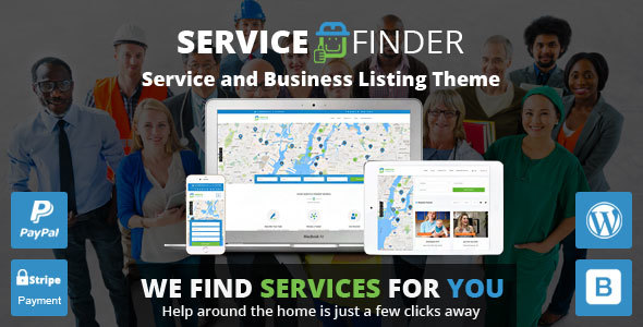 Download Service Finder v3.4 - Provider and Business Listing Theme