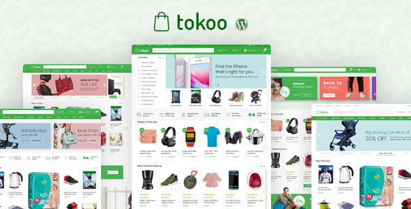 Download Tokoo v1.1.5 - Electronics Store WooCommerce Theme