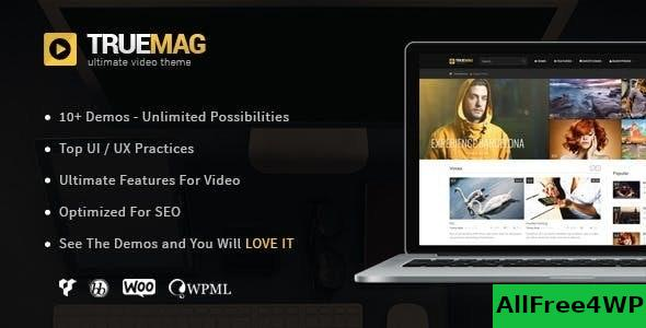 True Mag v4.3.6 – WordPress Theme for Video and Magazine