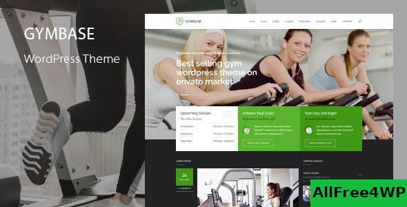GymBase v14.1 - Responsive Gym Fitness WordPress Theme