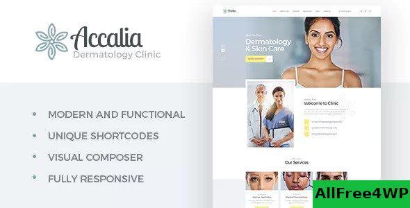 Download Accalia v1.3 - Dermatology Clinic WordPress Theme