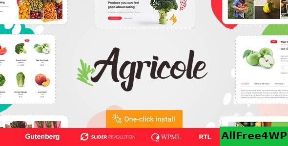 Download Agricole v1.0.3 - Organic Food & Agriculture WordPress Theme