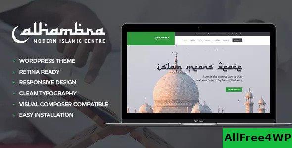 Download Alhambra v1.1.4 - Islamic Centre WordPress Theme + RTL