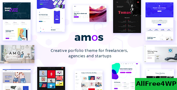 Download Amos v1.3 - Creative WordPress Theme for Agencies