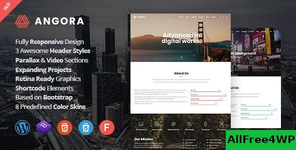 Download Angora v1.4 - Responsive One Page Parallax WordPress Theme