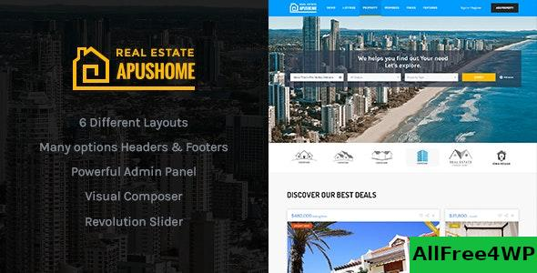 Download ApusHome v1.7.8 - Real Estate WordPress Theme