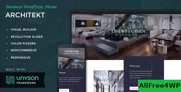 Download Architekt v1.0.4 - WordPress Business Theme