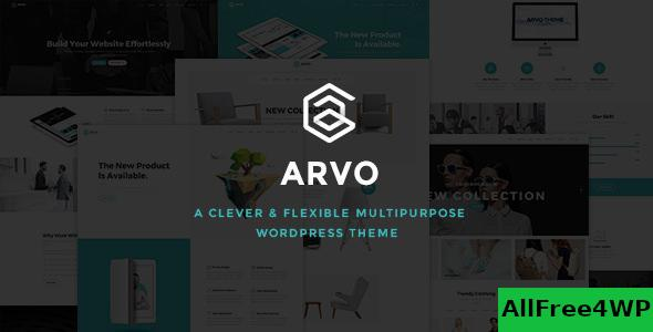 Download Arvo v2.1 - A Clever & Flexible Multipurpose Theme